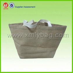 Custom Jute Shopping Tote Bag and Jute Wine bag