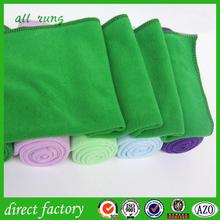 hotel plain dyed super cheap 2015 promotional microfiber towels dots green bamboo