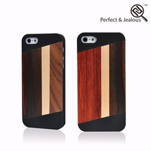 Fashion Real wood bamboo book covers for iphone 5s