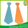 Arts And Crafts Abult Photo Props Paper Mask On Stick Paper Necktie With Stick