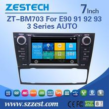 Car DVD Player GPS Radio built in Wince gps navigation system car dvd player for BMW E90/E91/E92/E93