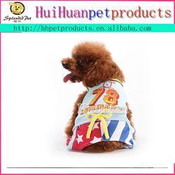 Leisure designer pet dog suit