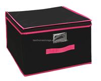 2015 New Jumbo multipurpose folding fabric storage box with lid wholesale