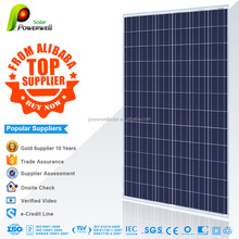 Powerwell Solar Super Quality And Competitive Price CE,IEC,CEC,TUV,ISO,INMETRO Approval Standard 300w poly solar panel