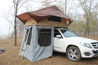 1-2 person hard roof top tent 4x4 accessories car tent for outdoor camping