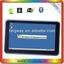 Newest 7'car gps gps atv with FM,MP3,MP4,wifi,av in,bluetooth,dvr,512SDRAM+8G flash