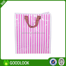 printing foldable good price pp woven recycled shopping bag