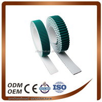 Bothside Green Fabric Coated Timing Belts