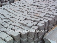 Natural Black Cubes Stone for walkway driveway parking