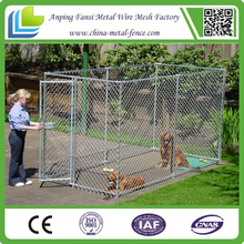 High quality metal cheap chain link dog kennel / iron fence dog kennel / dog kennel wholesale