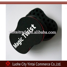 2015 Hot Sales Salon Magic Hair Twist Sponge Brush For Black men