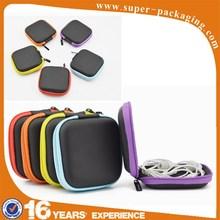 Customizable waterproof EVA PU leather networking tool bag for electronic equipment