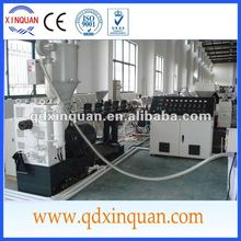 cold and hot water supply pe pipe extrusion line