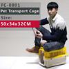 FC-0801 Cute & Mini Plastic dog cage, dog carrier, dog flight kennel