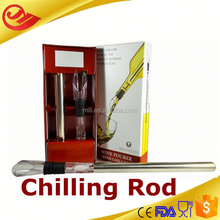 wholesale LFGB approved hot-selling and bpa free cooling stick for wine