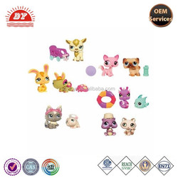 2015 new high quality & low price Custom made PVC littlest pet shop toys