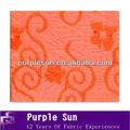 laranja brilhante tradições tecidos estampados no padrão clássico