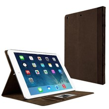 Wholesale high quality original shock proof cover leather case for ipad air 2