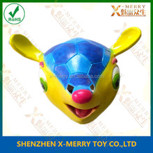 X-MERRY Eco-friendly Animal Mask Cartoon Fox mask For Children Gifts Female Full Head With Colorful