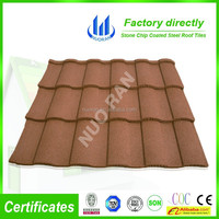 Stone coated colorful roofing tiles for house