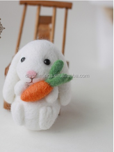2015 New arrival animal design DIY felt handmade wool craft kit for gift