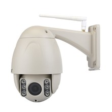 80 Meters long range night vision outdoor wireless IP PTZ camera,5X auto optical zoom and focus wifi PTZ camera