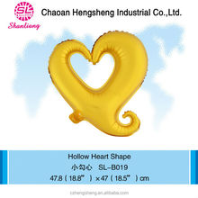 Mini hollow heart shape balloon children's day decorations