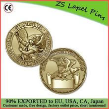 Custom St. Michael Coin