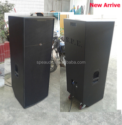 HOT! SP-3215 pro 2*15' bass system Baltic 18mm plywood built in wheels of the cabinet full range 800W er