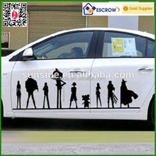 body wrap car sticker printing/wholesale vehicle sticker for decoration