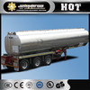 cimc quality 45 m3 tri axle fuel tank semi trailer/aluminum alloy tanker/liquid tanker semi trailer
