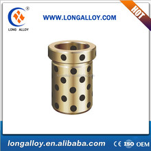 Good ASTM Standard C95700 JOST oilless flanged Aluminum bronze guide bushes
