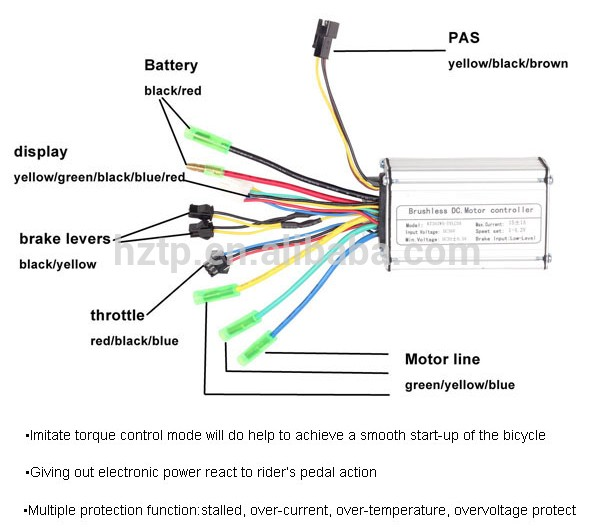 Electric Bike Motor Controller    36v     Buy Electric Bike    36v    Controller 36v15a Controller Electric