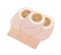 colostomy bag one pc open with nonwoven flange