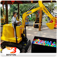 2015 hot selling kids Electronic toy excavator for children kids toy excavator for sale kids electric excavator toy