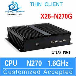 Mini PC 4gb Ram PC Itx Case XCY Intel X26-N270G N270 Support Home Premium 8G RAM 32G SSD