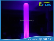 Outdoor colorful led inflatable light column decoration/inflatable light column/inflatable column