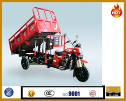 Top sales Hydraulic Cargo Tricycle 200cc with lift-up system