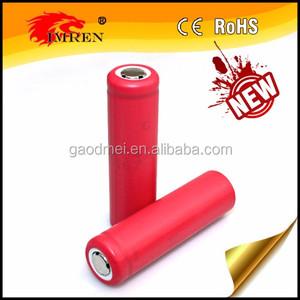 Sanyo ur18650bf 18650 Li Ion batería 3400 mAh Sanyo Lipo Células cilíndricas/18650 de batería 5C