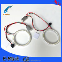 80mm 3528 smd led angel eyes for GRANDE PUNTO,smd led light halo ring kits for Fiat