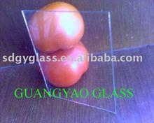 Coupe taille feuille de verre clair