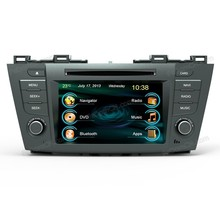 car radio auto stereo audio dvd player with gps navigation For Mazda 5