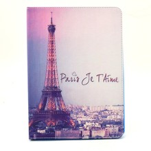 PU leather case for ipad 5 Factory price tablet case for ipad air2/ ipad6