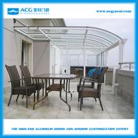 Outdoor glass winter garden room,Prefabricated garden glass house YGF-03