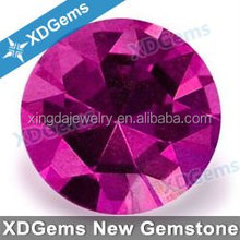 synthesis gemstone AAAAA quality factory price blood ruby