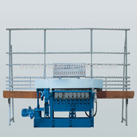 China price industrial manual 9-wheel glass edge beveling machine for sale