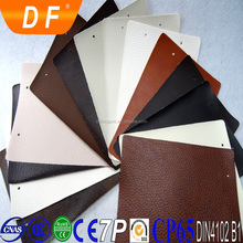 Luxury/classic eco-friendly waterproof anti-mildew durable pvc sofa leather pvc leather stock lot leatherette for sofa