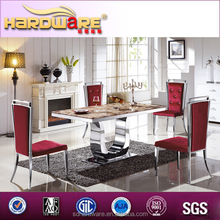 High quality cheap dining table and chairs/european style home furniture of table and chairs