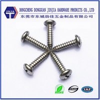 DIN7981 M4.8x19 cross recessed pan head tapping screw for home furniture