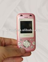 gift for student cute design mini mobile phone with position tracker, SOS emergency calling